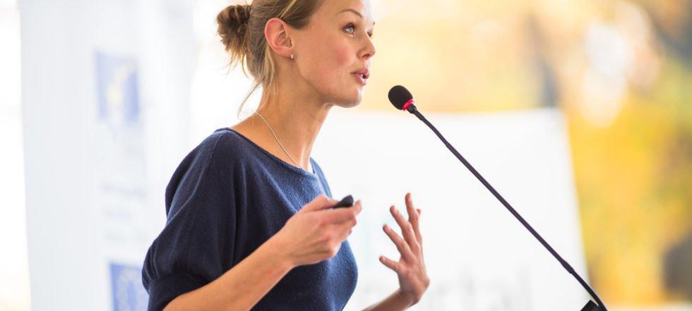 Präsentationen werden immer wichtiger und sollten trainiert werden!