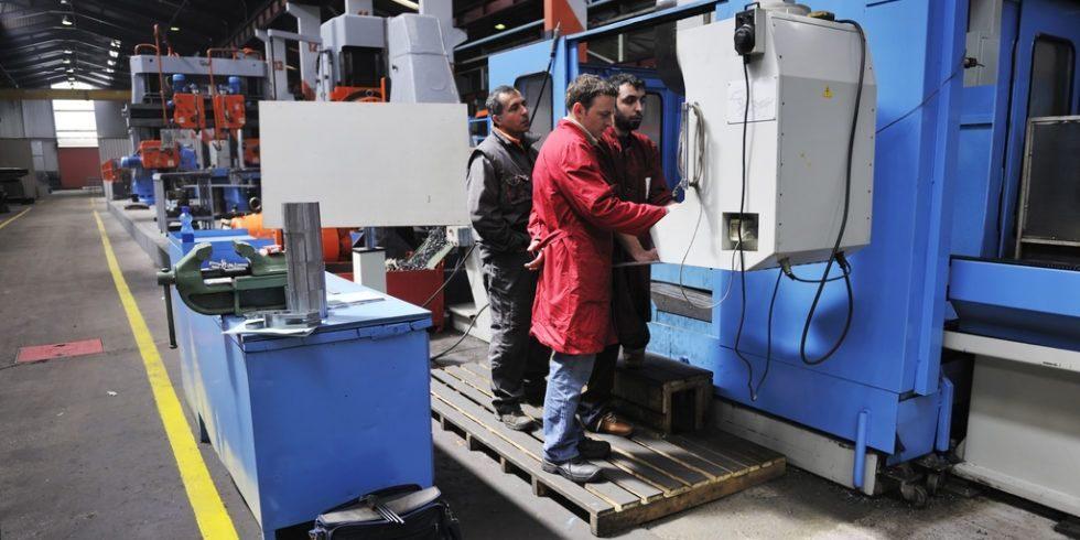 Gute Perspektiven im Anlagen- und Maschinenbau für Ingenieure.