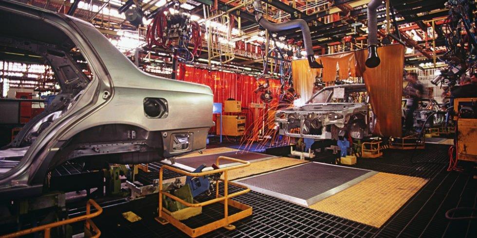 Arbeitsmarkt: Automobilindustrie schwächelt.