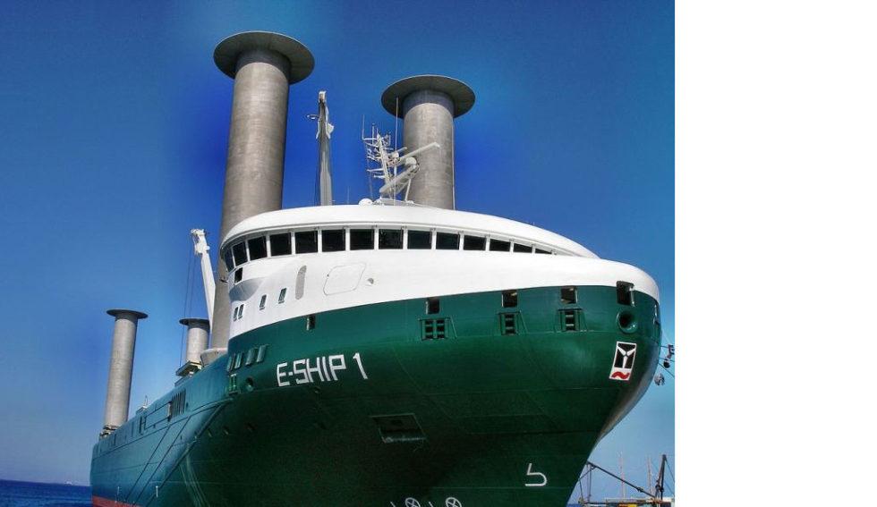 E-Ship 1 im Hafen von Kos
