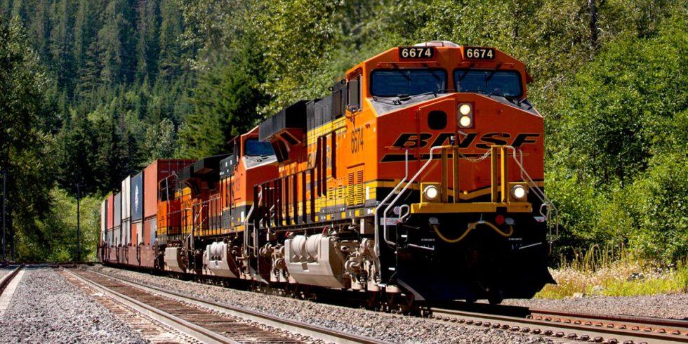 Güterzug von BNSF