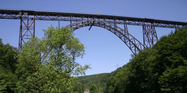 Müngstener Brücke bei Solingen