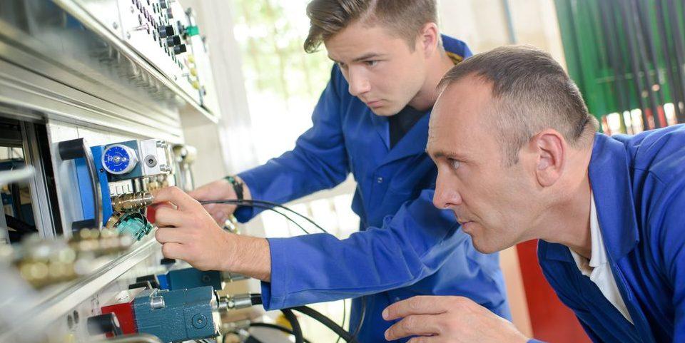 Maschinen- und Anlagenbau bietet viele Möglichkeiten.