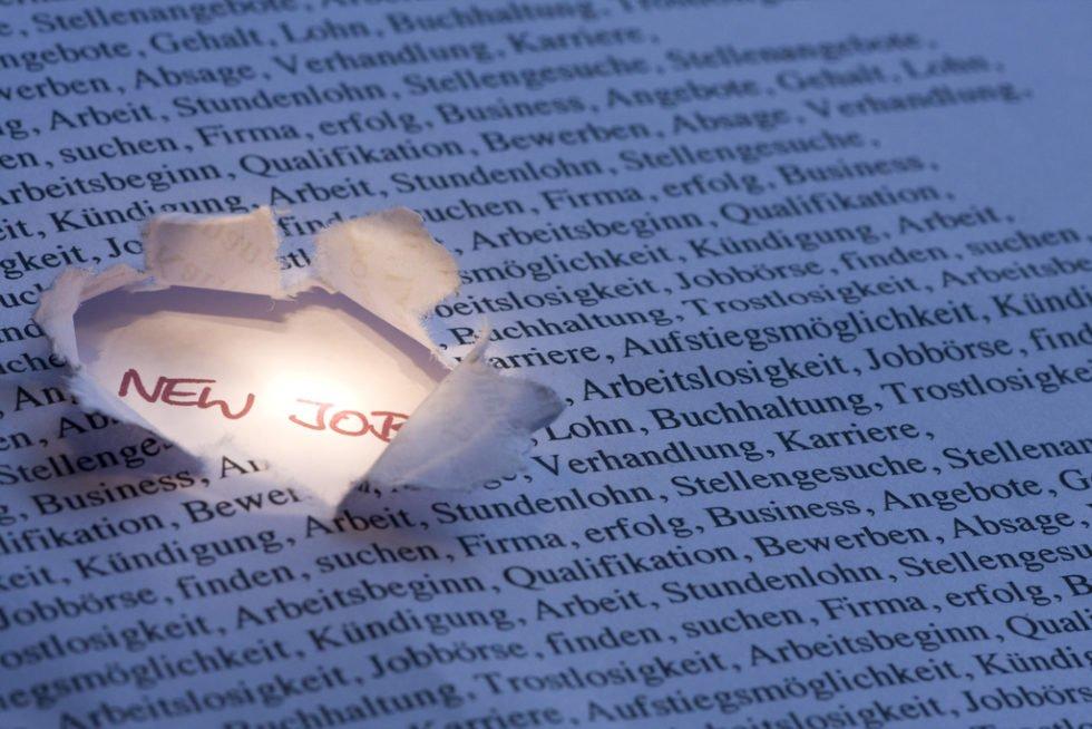 Das richtige Lesen von Stellenanzeigen kann zum Erfolg führen.