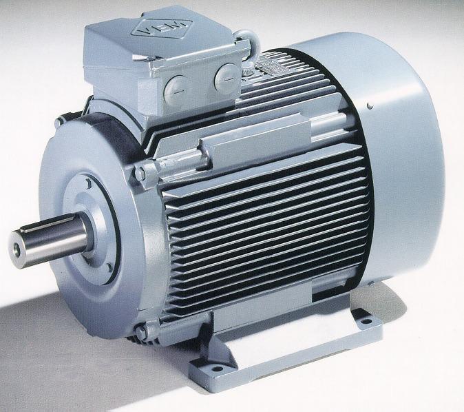 Bild 2 a: Ausgangskennfeld für Netz-Motoren (DOL) und b: Motor (VEM)