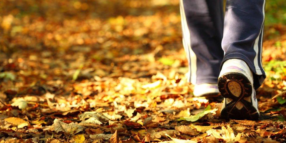 Im Herbst besonders wichtig: Energiereserven an der frischen Luft auffüllen.