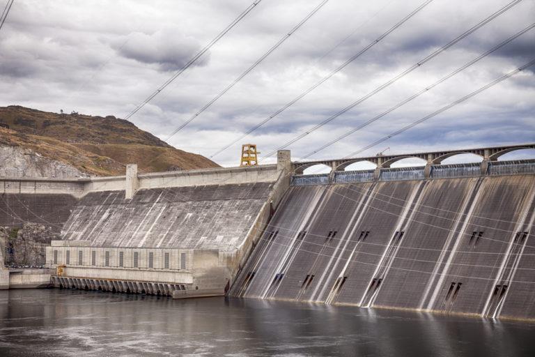 Grand Coulee Wasserkraftwerk