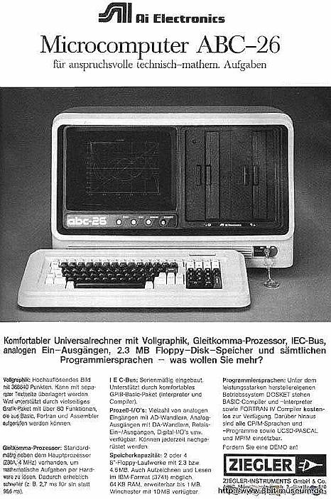Microcomputer ABC-26
