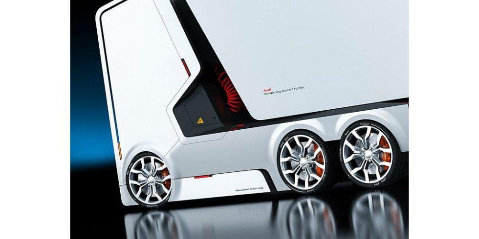 So toll könnten Elektro-Trucks von Audi aussehen