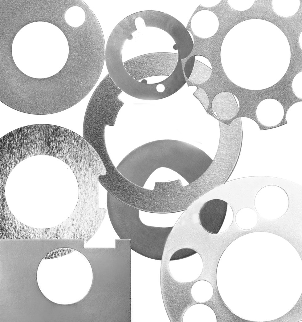 Bild 1 Für jede Anwendung maßgeschneidert, verhindern die reibwerterhöhenden Scheiben das Durchrutschen reibschlüssiger Verbindungen.