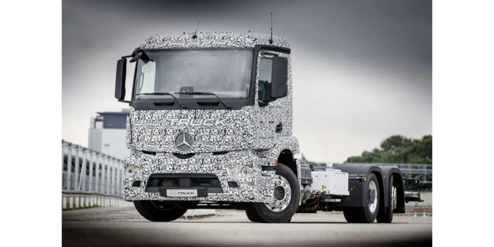 Mit diesem 26-Tonner liefern Trucker rein elektrisch in die City