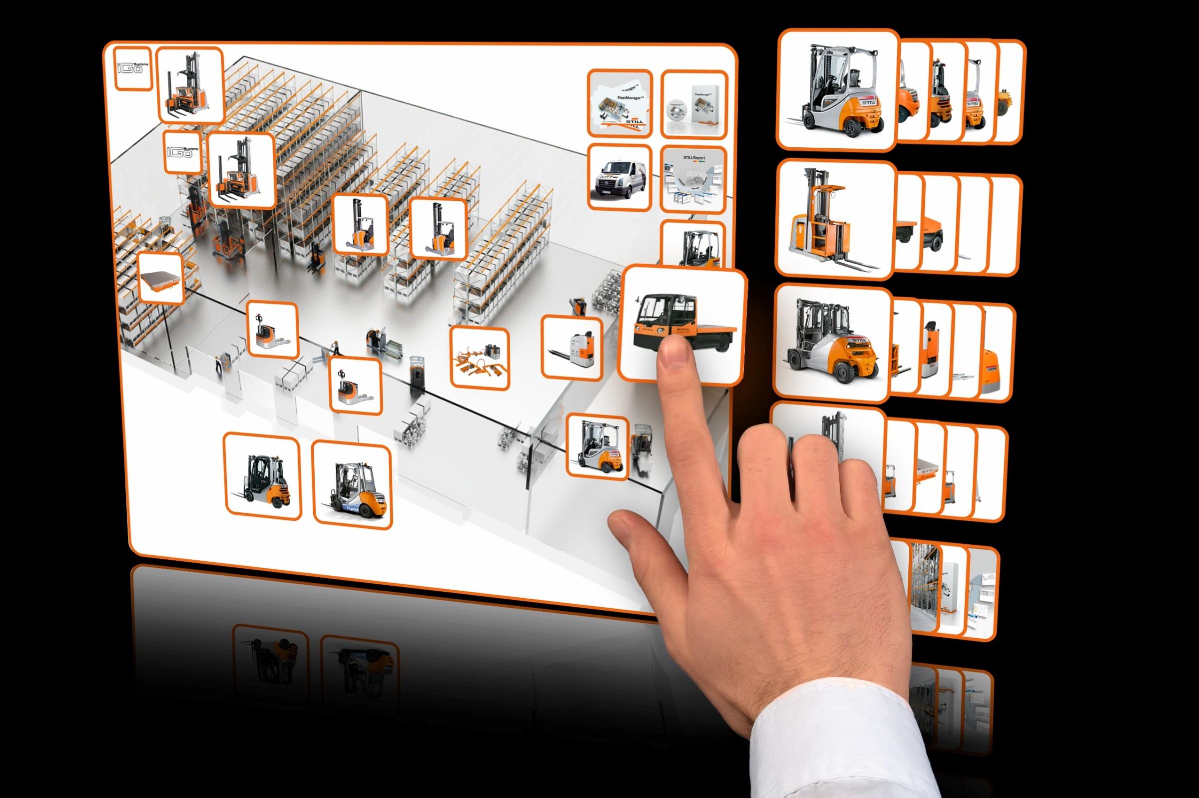 Bild 2 Der StillFleetManager erstellt Berichte, mit deren Hilfe er die Nutzung der Flotte verbessert. Bild: Still