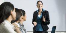 Eine gekonnte Selbstpräsentation sollten Ingenieure trainieren