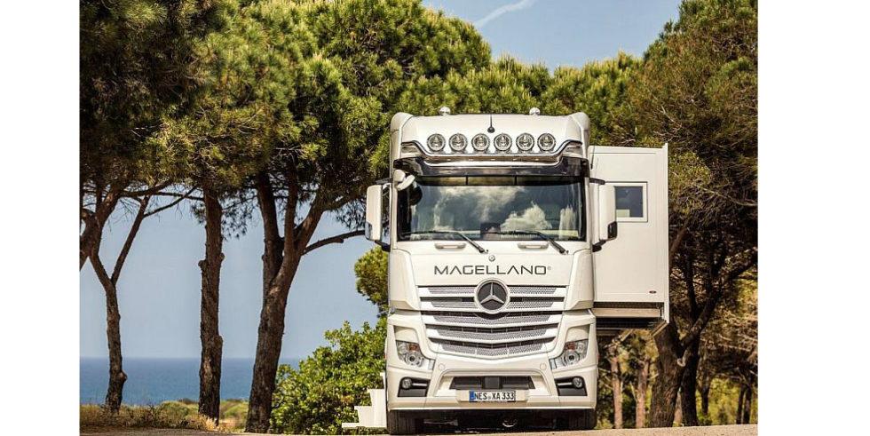 Mercedes Actros wird für 680.000 € zur rollenden Luxuswohnung