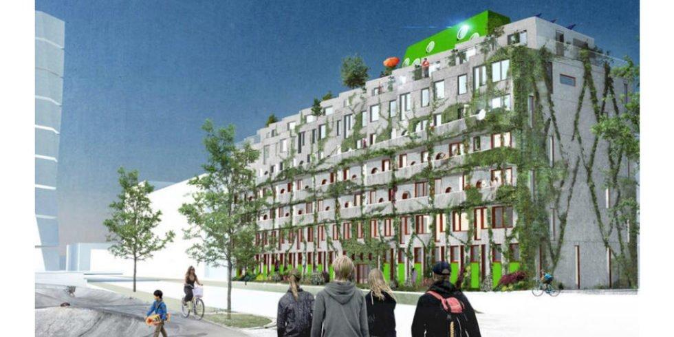 In Malmö entstehen Wohnungen nur für Fahrradfahrer