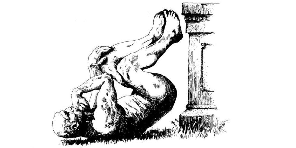 Das Logo des ig Nobel Prize zeigt den gestürzten Denker des Bildhauers Auguste Rodin.