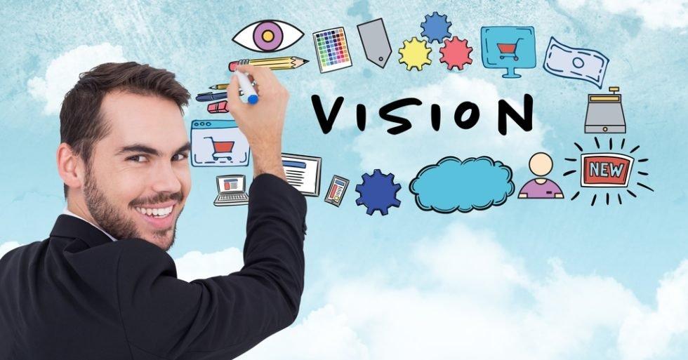 Visionen können im Bewerbungsprozess hilfreich sein.