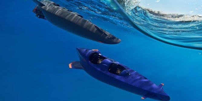Mit diesem U-Boot kann jeder einfach abtauchen