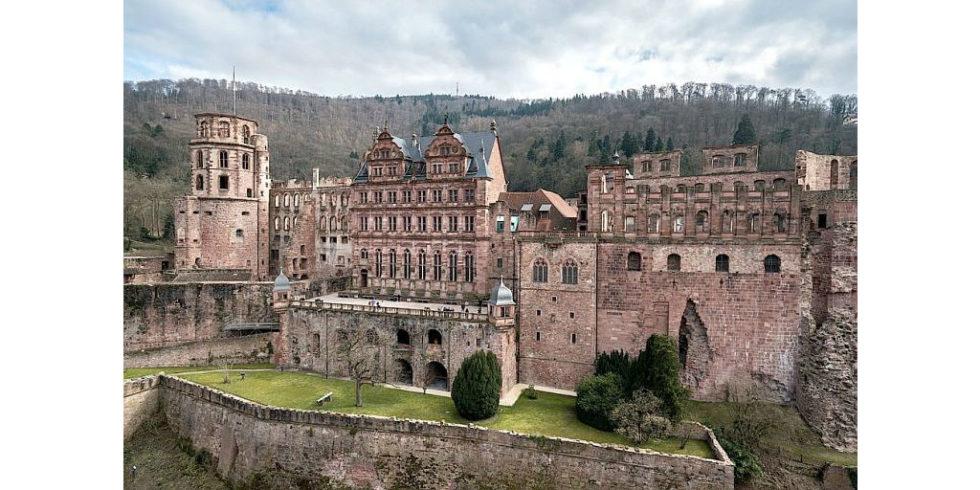 So sah das Heidelberger Schloss vor der Zerstörung aus