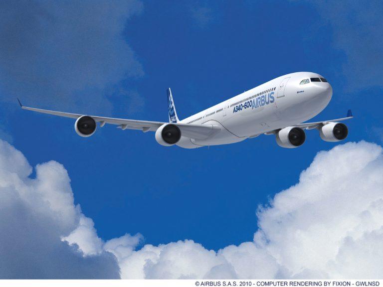 Airbus A340 600. Foto: Airbus