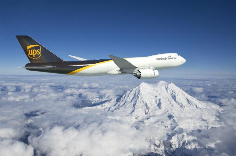 Eine Boeing 747-8F. Die Riesenmaschine ist ein Flugzeug-Gigant. Foto: Boeing