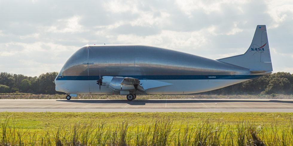 Das Flugzeug Super Guppy belegt im Ranking der größten Flugzeuge einen hohen Platz - doch es geht noch größer. Foto: panthermedia.net/newzulu