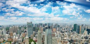 Luftbildaufnahme von Tokio