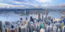 Luftbildaufnahme von Hongkong