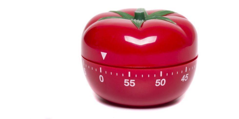 Eieruhr in Form einer Tomate