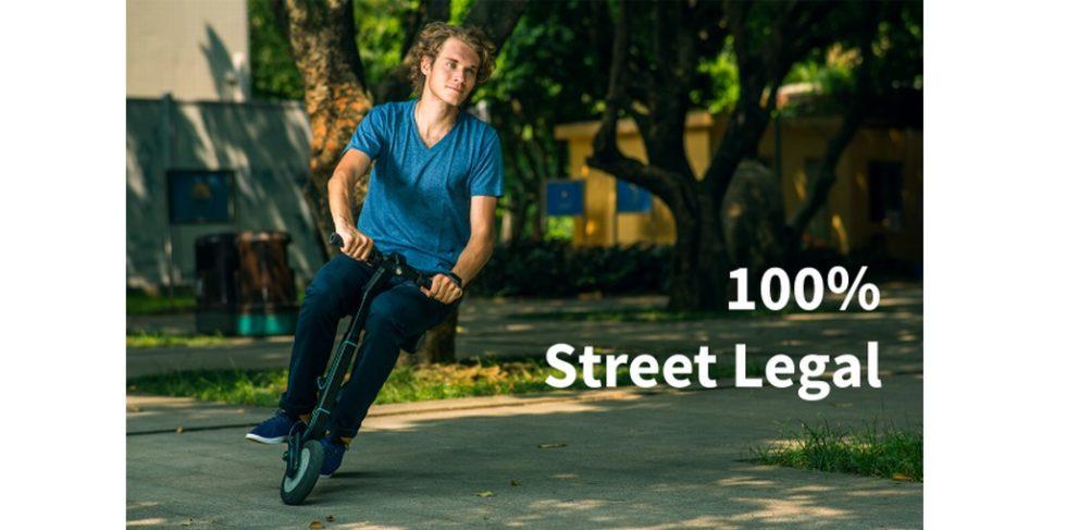 Bild mit der Aufschrift: 100% Street Legal