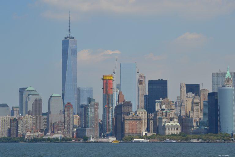Das One World Trade Center in der Skyline von New York. Foto: Peter Sieben