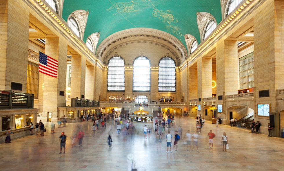 Menschen in der Halle der Grand Central Station