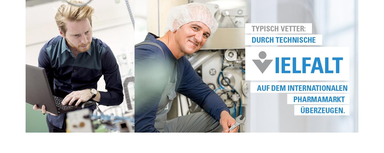 Logo von Vetter Pharma-Fertigung GmbH & Co. KG