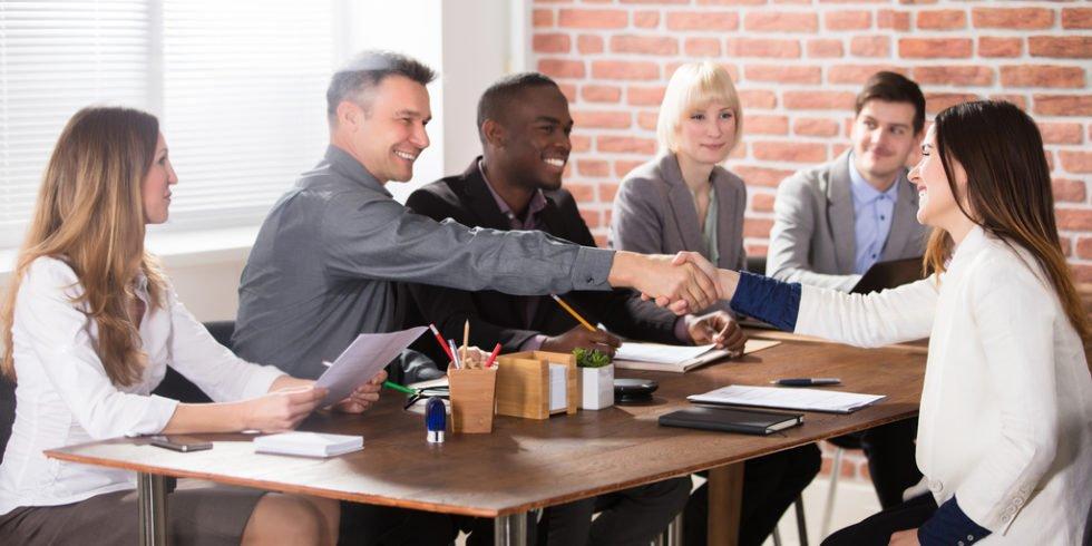 Verkaufszeit im Vorstellungsgespräch effektiv nutzen.
