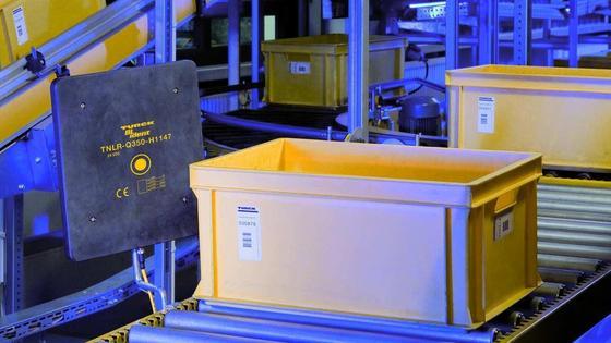 RFID-Technologie in der Logistik: Verbesserte Sicherheit der Transportkette.