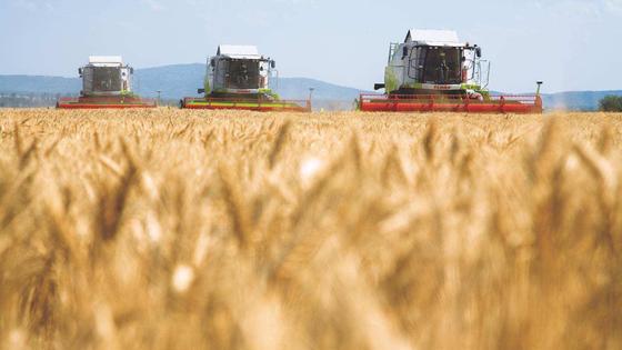 Hightech in der Landwirtschaft.