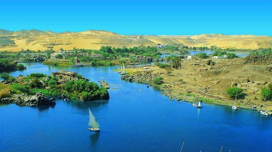 Assuan-Staudamm in Ägypten: Weitere Großprojekte sollen die Wasserversorgung für die Zukunft sichern.