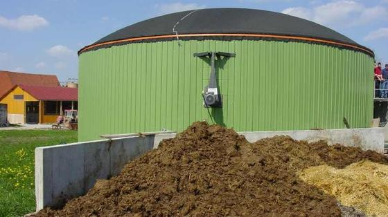Angestrebt: Biogas in Erdgasqualität.
