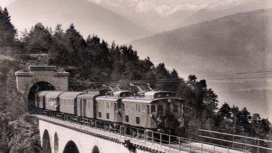 Die Karwendelbahn gilt als erste elektrische Vollbahn mit Normalspur.