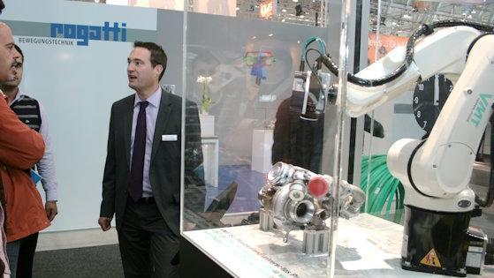 Viele Aussteller treiben die Automation in der Qualitätssicherung voran.