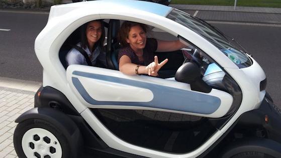 Der neue Stadtflitzer von Renault sorgt für Aufmerksamkeit.