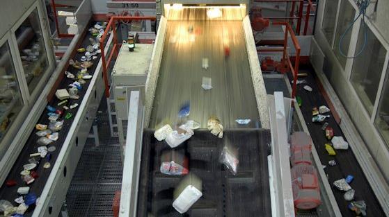 Zu Abfall gewordene Polymere wurden fast vollständig wiederverwertet.