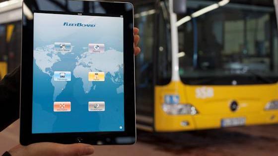 Telematik erleichtert Routenplanung und technische Diagnose.
