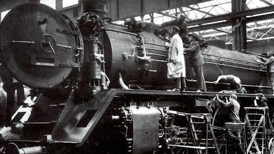 In den 1820er-Jahren entstanden zahlreiche Maschinenbauanstalten