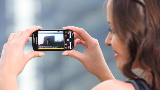 An die Bildqualität guter Digitalkameras kommen Smartphonesnicht heran.