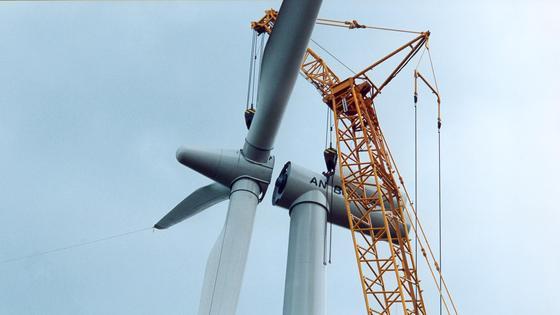 Repowering von Windkraftanlagen verspricht große Potentiale.