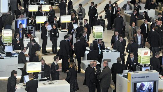 Mittelständler präsentieren sich auf der RFID-Messe Euro ID.