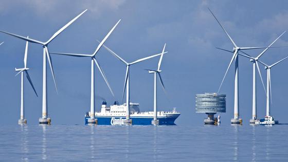 Offshore Windparks: Ehrgeizige Ziele nicht haltbar.