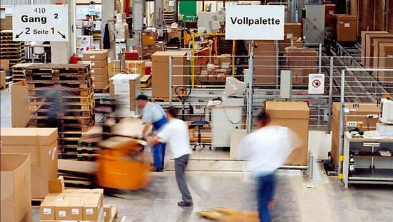 RFID-Lösungen optimieren die Lagerlogistik