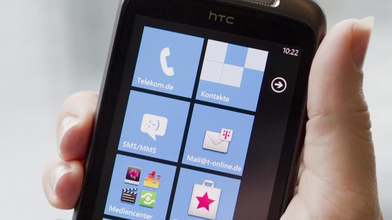 Handy mit Windows Phone 8